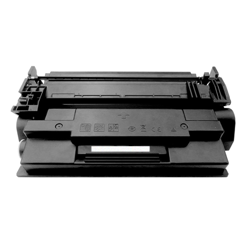 Replaces HP CF287X  (HP 87X)  Black Toner Cartridge