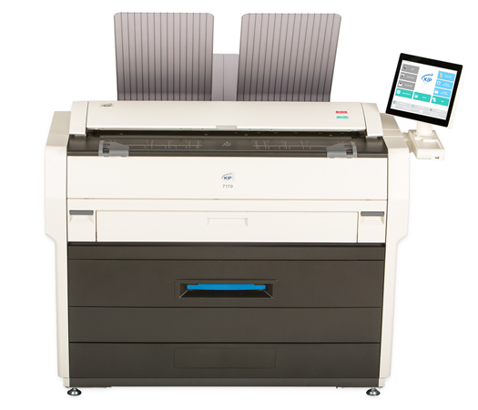 KIP 7170 Wide Format MFP Printer